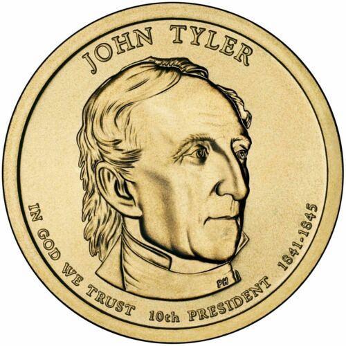 2009  P  JOHN TYLER   GOLDEN DOLLAR