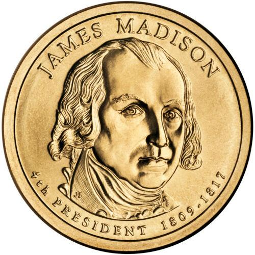 2007  D  JAMES MADISON  GOLDEN DOLLAR
