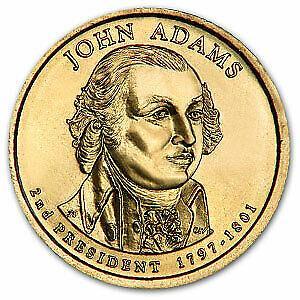 2007 P  JOHN ADAMS  GOLDEN DOLLAR