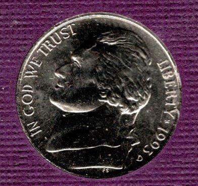 1993 D Jefferson Nickels -3