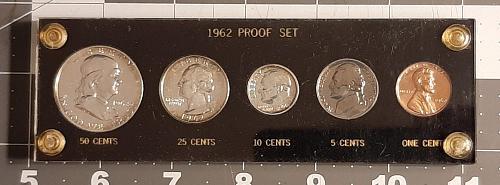 1962 Proof Set in Custom Capitol Holder