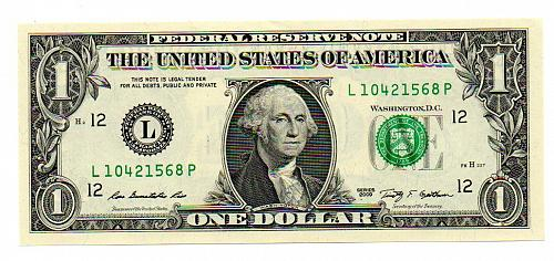 2009 Uncirculated Federal Reserve Note from San Francisco FRB
