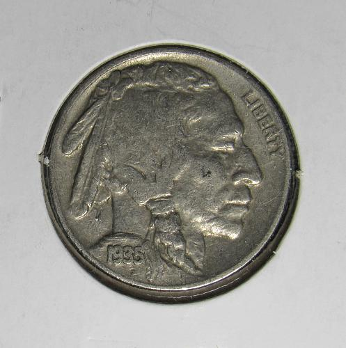 1935P Buffalo Nickel