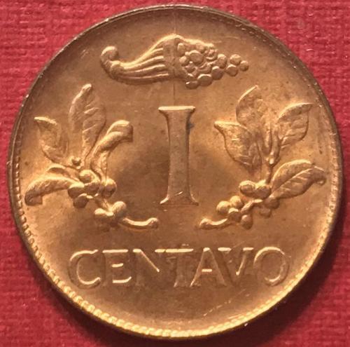 Colombia 1967 - 1 Centavo [#2]