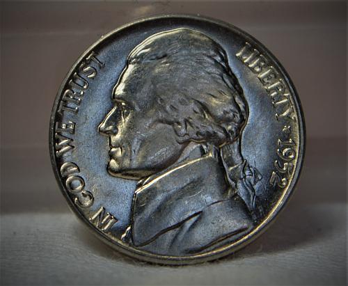 1952 D Jefferson Nickel BU