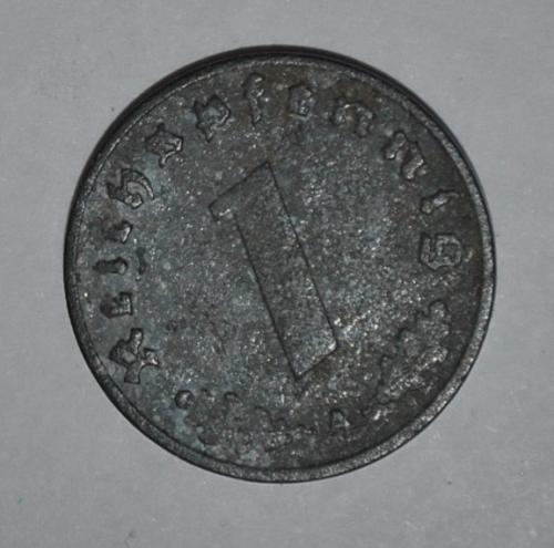 Germany 1 Reichspfennig 1940 A