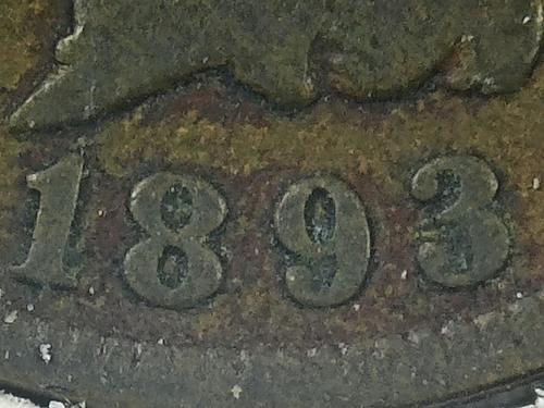 1893 P Indian Head Cen #2