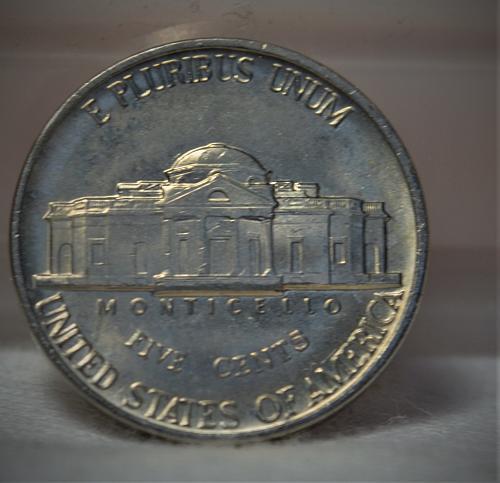 1982 D Jefferson Nickel BU - Steps