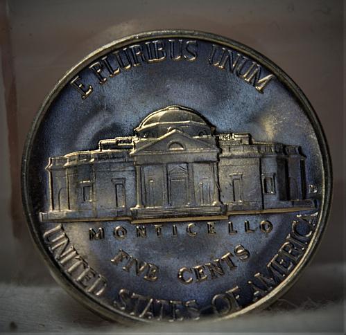 1940 D Jefferson Nickel BU - with 4 steps!!!