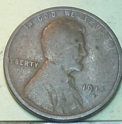 1915-D Very Good Lincoln Wheat Cent ( C-101)