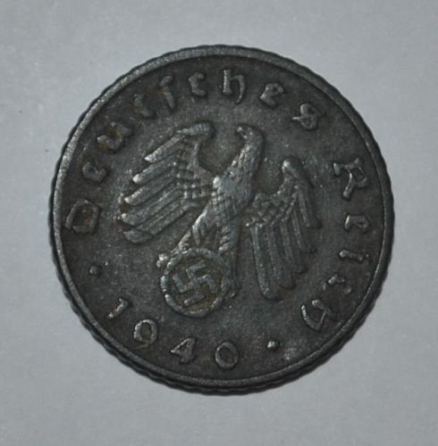 Germany 5 Reichspfennig 1940 A