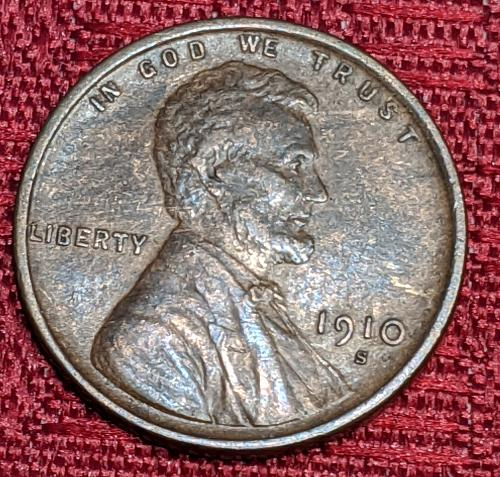 1910S XF LINCOLN CENT