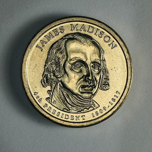 Presidential dollars Madison 2007 D Uncirculated