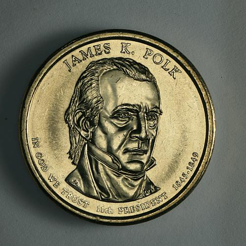 Presidential dollars Polk 2009 D Uncirculated