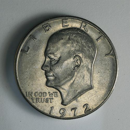 1972 D Eisenhower