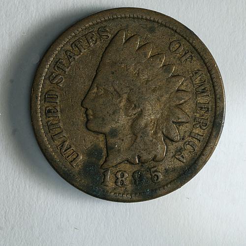 1895 Indian Head VG