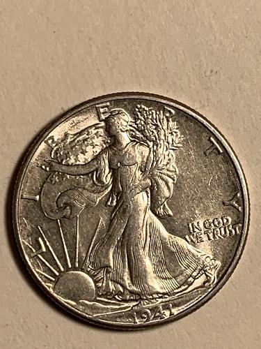 1941 P Walking Liberty 90% Silver Half Dollar- Popular Date