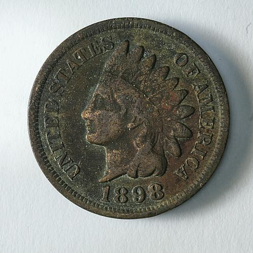 1898 Indian Head Cent VG