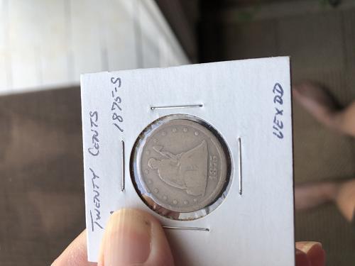 1875 S Twenty Cents