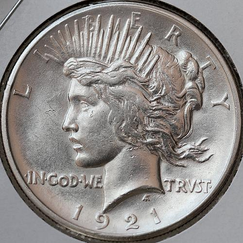 1921 Peace Silver Dollar - Gem BU / MS / UNC - Better Grade