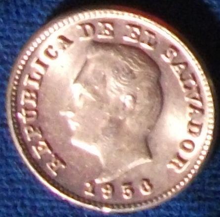 1956 El Salvador Centavo BU