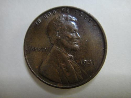 1931 Lincoln Cent Almost Uncirculated-55 Nice Strike & No Major Marks!