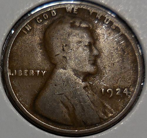1924-P Lincoln Wheat Cent