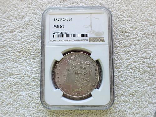 1879 O Morgan Dollar  NGC MS61
