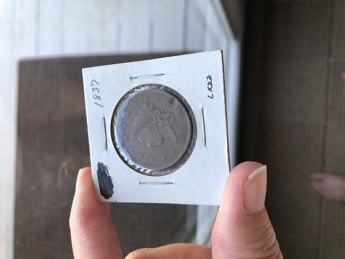 1837 Large Cent