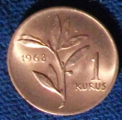 1968 Turkey Kurus UNC