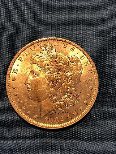 Morgan Dollar 1882-O