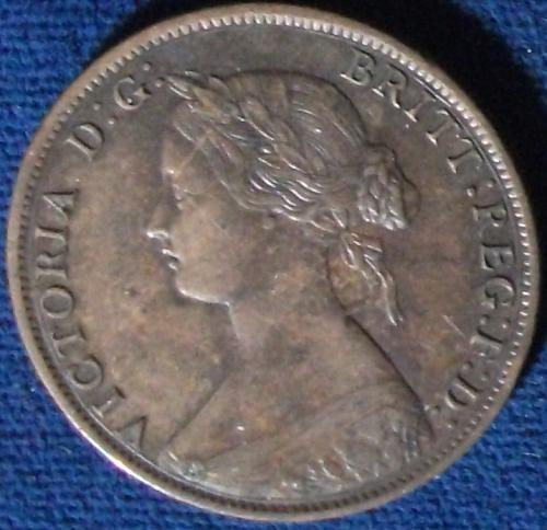 1861 Nova Scotia Cent XF+