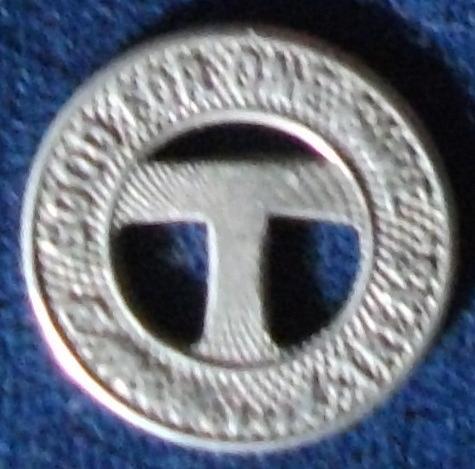 Trenton & Mercer Co. Traction Corp (NJ) Fare Token