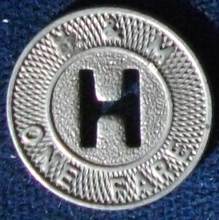 H & M (NYC and NJ) Fare Token