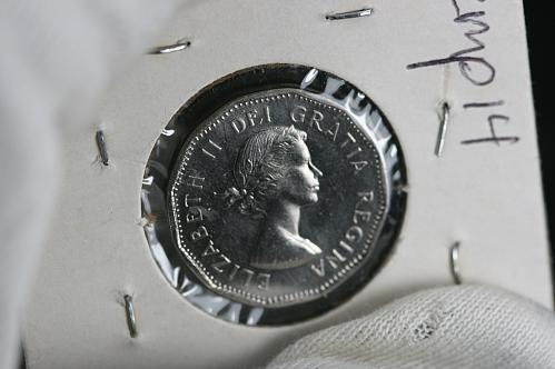 1962 Canada Five Cent BU
