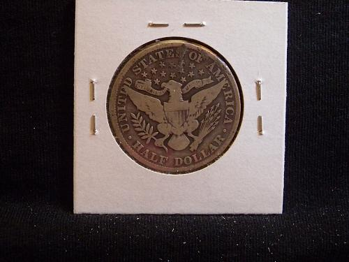 1902 P Barber Half Dollar