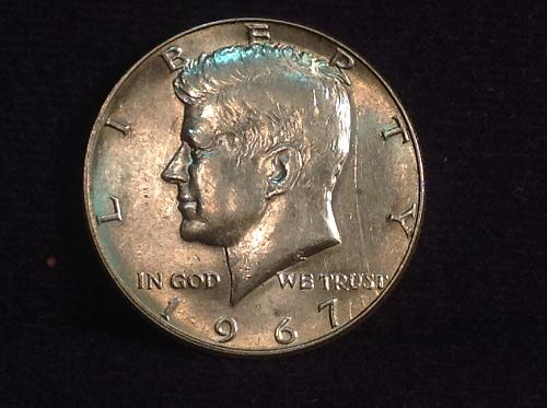 1967 P Kennedy 1/2 dollar