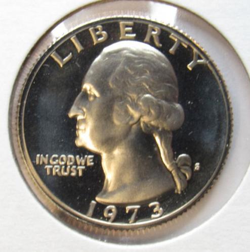 1973 S Washington Quarter Proof