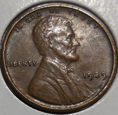 1929-P Lincoln Wheat Cent
