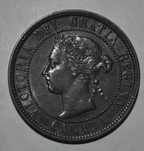 1898H Canada 1 Cent (G345e)