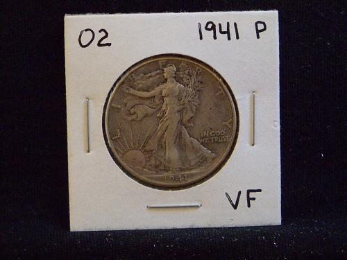 1941 P Walking Liberty Half Dollar