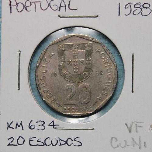 Portugal 1988 20 Escudos