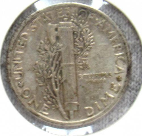 Set of three Mercury Dimes: 1941 D, P & 1942 P