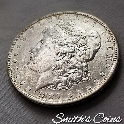 1889 ~ Morgan Dollar ~ AU