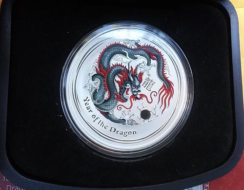 Australian 🇦🇺 Lunar Series II Year of the Dragon 2012