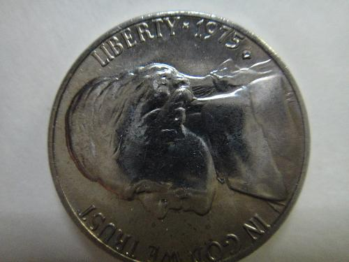 1975-D Jefferson Nickel MS-64 (Near Gem) 2 Steps SHARP STRIKE!