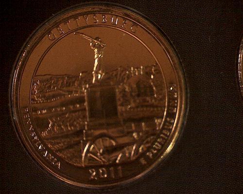 2011 PHILADELPHIA AMERICA THE BEAUTIFUL QUARTERS GOLD PLATED 5 COIN SET