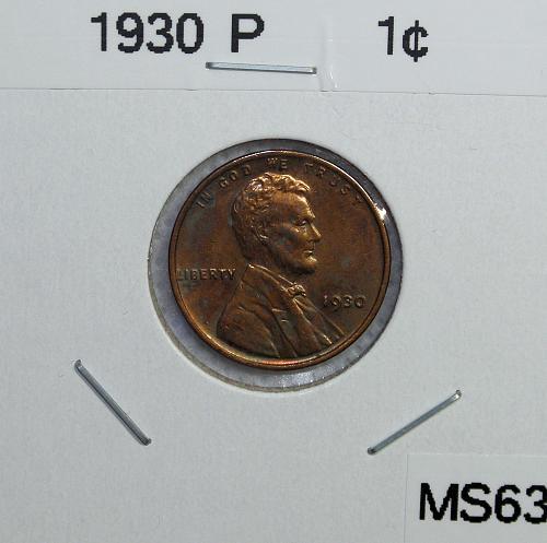 1930 P Lincoln Wheat Cent