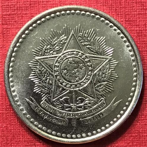 Brazil 1988 = 50 Centavos [#2]