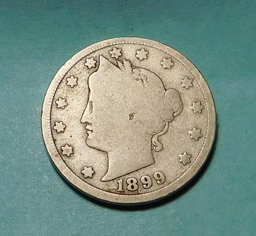 1899 Liberty V Nickel,